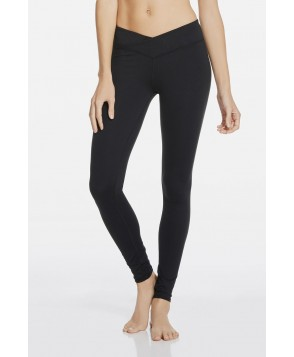Fabletics Leggings Winn Mid Rise Legging Womens Black