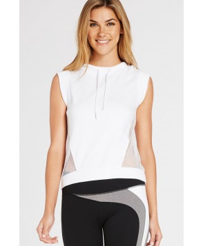 Fabletics Jackets Sirena Pullover Womens White