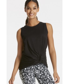 Fabletics Tanks Hera Tee Womens Black