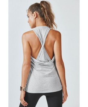 Fabletics Kerry Tank Top Womens Gray