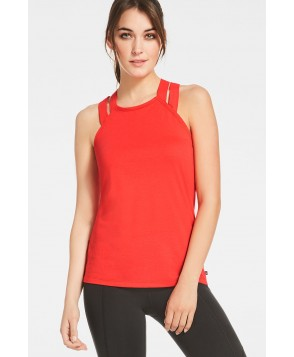 Fabletics Aldis Tank Top Womens Red