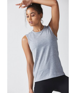 Fabletics Holly Tank Top Womens Gray
