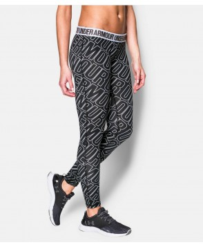 Under Armour Favorite Allover Word Mark Legging