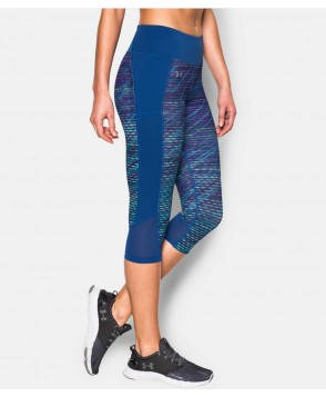 Under Armour Fly-By Printed Run Capri