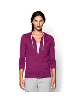 Under Armour Charged Cotton Tri-Blend Full Zip Hoodie