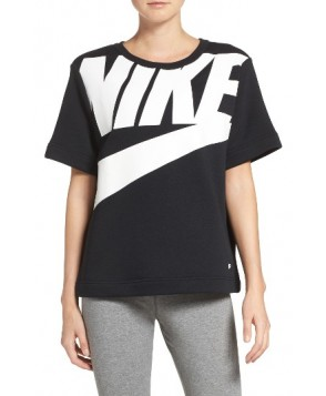 Nike Sportswear Irreverent Graphic Tee  - Black