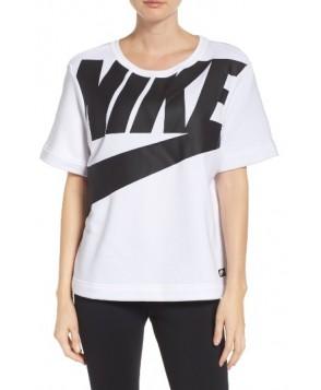 Nike Sportswear Irreverent Graphic Tee  - White