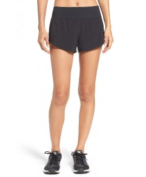 Zella Runaround Compact Shorts  - Black