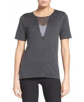 Nike Zonal Cooling Relay Tee  - Grey