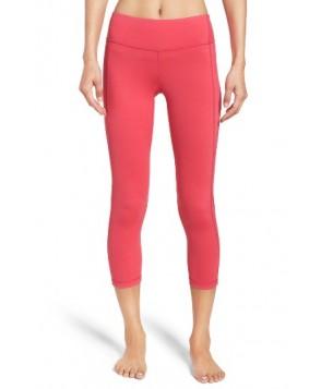 Zella Keep It Cool Crop Leggings -Small - Pink