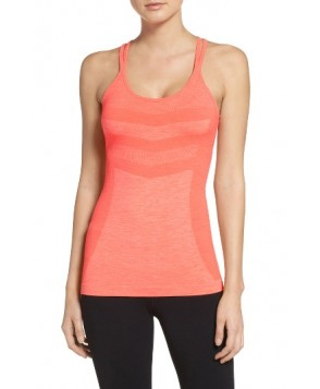 Zella Activation Seamless Tank  - Coral