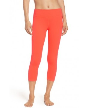 Zella Live In Crop Leggings -Small - Red