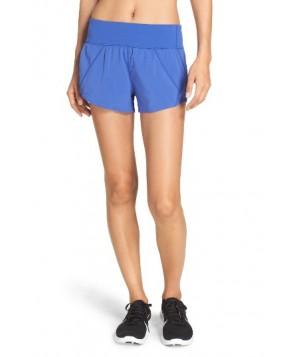 Zella Runaround Compact Shorts -Small - Blue