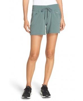 Zella Switchback Shorts  - Green