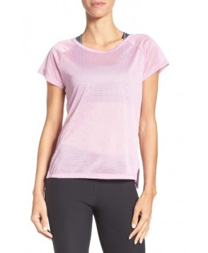 Nike Breathe Running Top  - Purple
