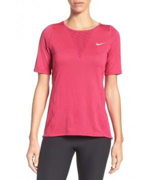 Nike Zonal Cooling Relay Tee  - Purple