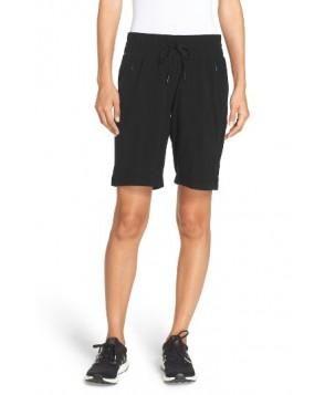Zella Outside Adventures Bermuda Shorts -Small - Black