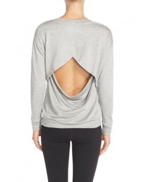 Beyond Yoga 'Breeze' Pullover,  - Grey