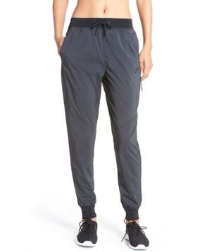 Nike Bonded Woven Pants,  - Black