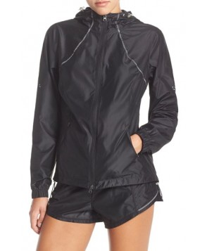Zella 'Cloud Nine 2' Hooded Jacket,  - Black