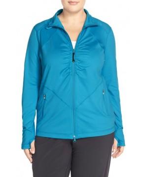 Plus Size Zella 'Grace' Jacket,  - Blue