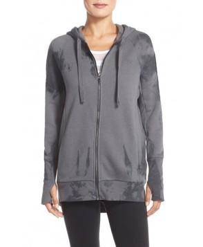 Alo 'Stellar' Hooded Sweatshirt,  - Black