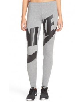 Nike Leg-A-See Exploded Logo Leggings  - Grey