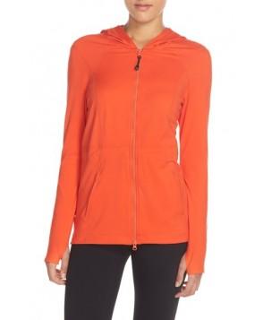 Zella 'Fresh Start' Hooded Jacket,  - Red