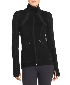 Zella 'Motivation' Zip Front Jacket,  - Black