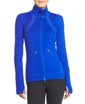 Zella 'Motivation' Zip Front Jacket,  - Blue