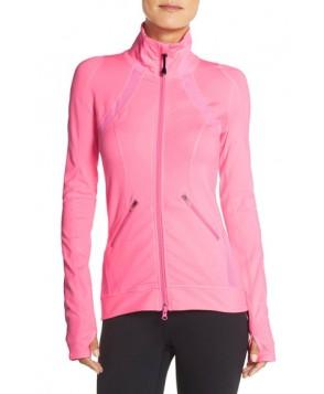 Zella 'Motivation' Zip Front Jacket,  - Pink