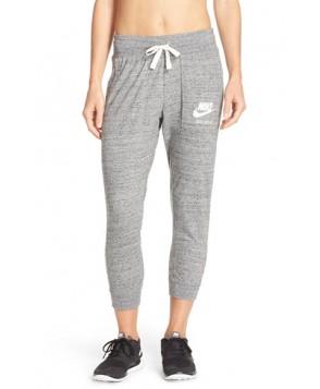 Nike 'Gym Vintage' Capris,  - Grey