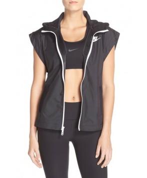 Nike 'Tech Hypermesh' Hooded Vest