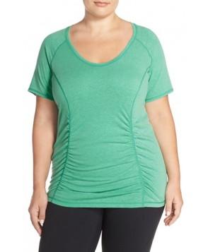 Plus Size Zella 'Z 6' Tee, X - Green