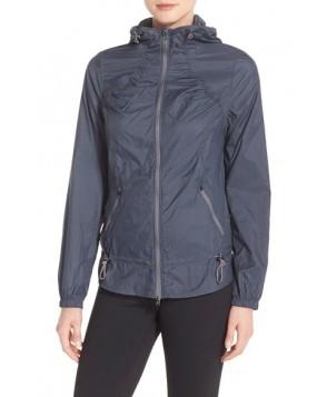Zella 'Euphoria' Windbreaker Jacket,  - Grey