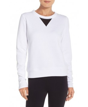 Alo 'Downtown' Long Sleeve Top,  - White