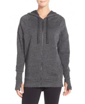 Alo 'Stellar' Hooded Sweatshirt,  - Grey