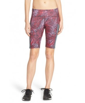 Zella 'Circuit' Bike Shorts,  - Red