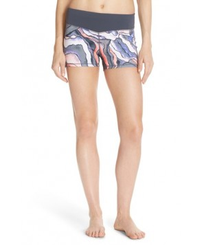 Zella 'Haute - Fair Game' Slim Fit Shorts,  - Grey