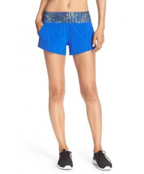 Zella 'Speedster' Running Shorts,  - Blue