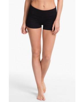 Zella 'Haute' Slim Fit Shorts,  - Black