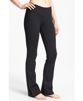 Zella 'Barely Flare Booty' Pants,  - Black