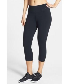 Nike 'Legendary' Dri-FIT Tight Fit Capris,  - Black
