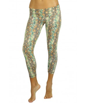 Balance Fit Wear Foldover Legging - Earth Animal