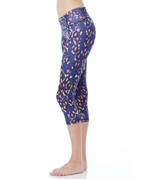 Balance Fit Wear Modern Cheetah Rennaissance Legging