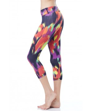 Balance Fit Wear Wild Paint Foldover Legging