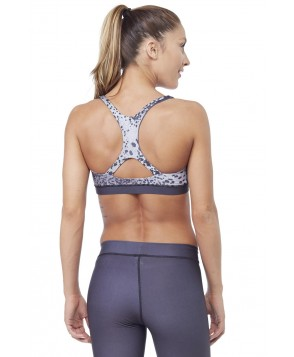 Electric & Rose Leopard Ombre Speedway Bra