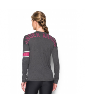 Under Armour UA Power In Pink Favorite Long Sleeve