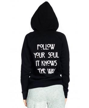 Spiritual Gangster Follow Your Soul Zip Hoodie