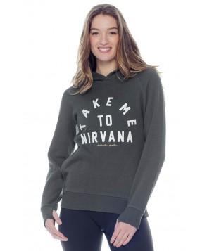 Spiritual Gangster Take Me to Nirvana Tribeca Hoodie
